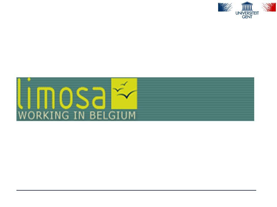 Limosa-melding (8) : melding frequente werkzaamheden  Vb.
