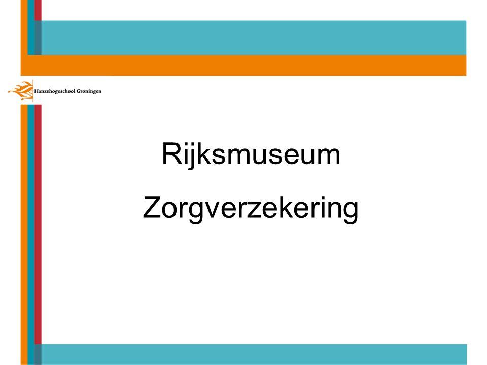 Rijksmuseum Zorgverzekering