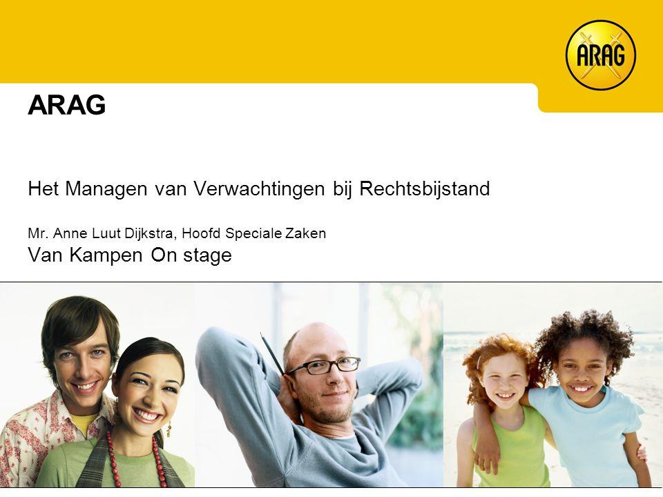 Kwaliteit, wensen en verwachtingen Wat biedt Rechtsbijstand/ARAG.