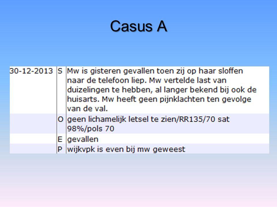 Casus A