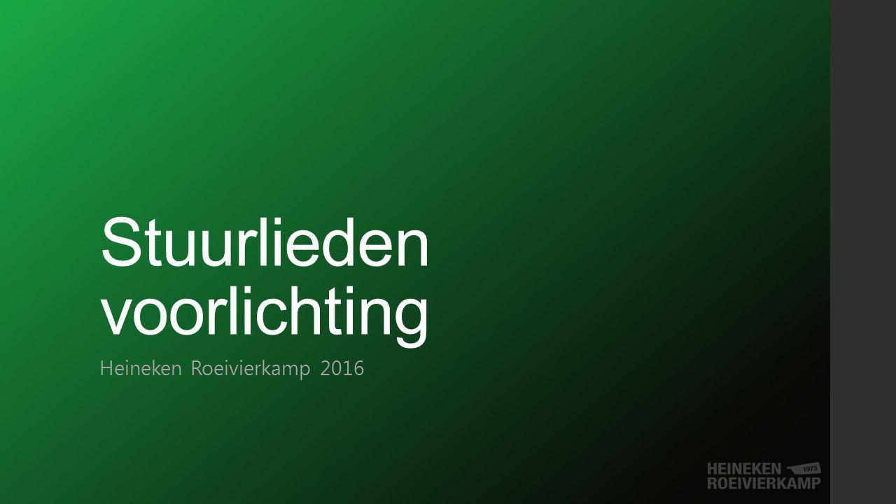 Stuurlieden voorlichting Heineken Roeivierkamp 2016
