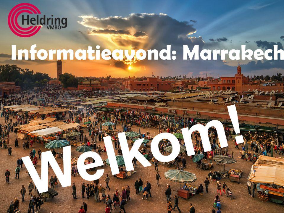 Informatieavond: Marrakech Welkom!