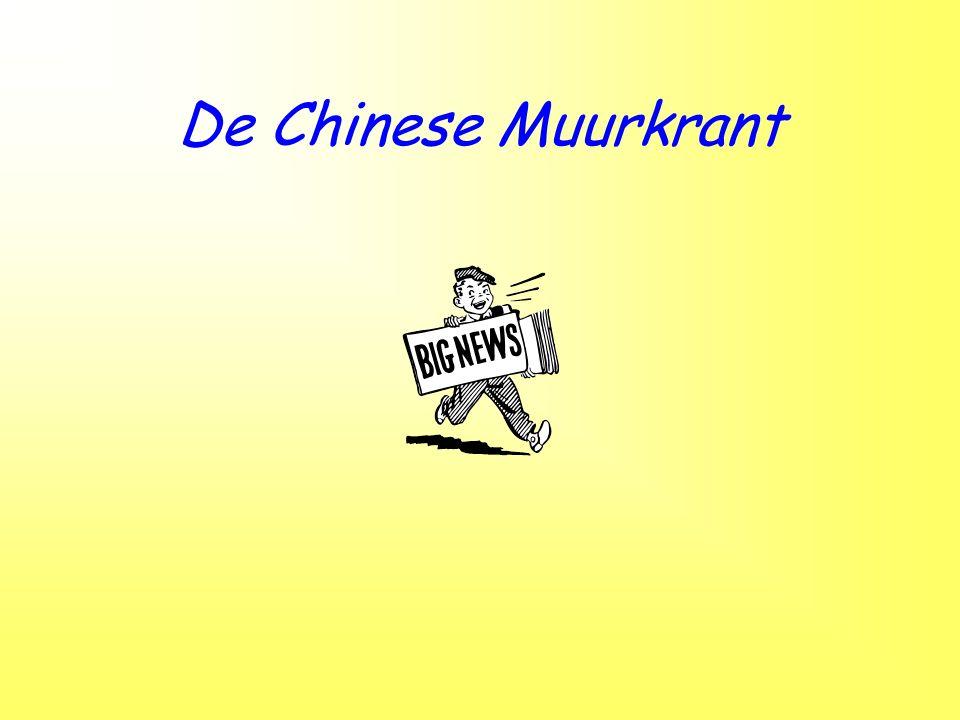 De Chinese Muurkrant