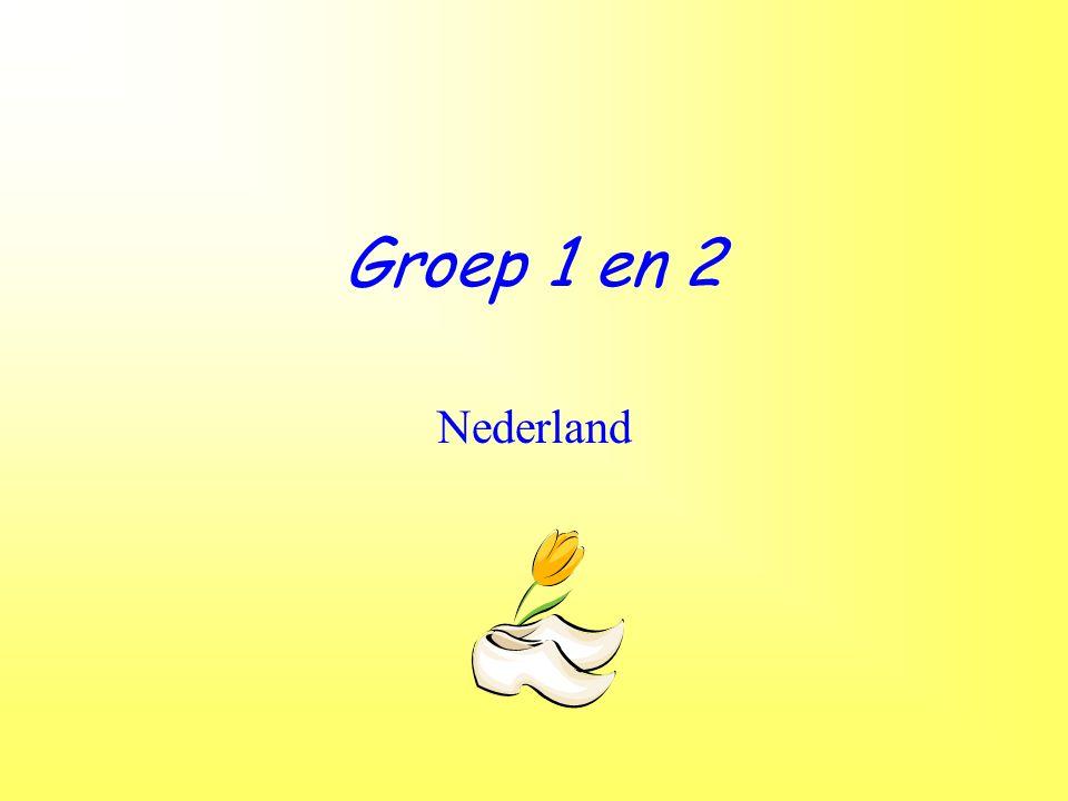 Groep 1 en 2 Nederland