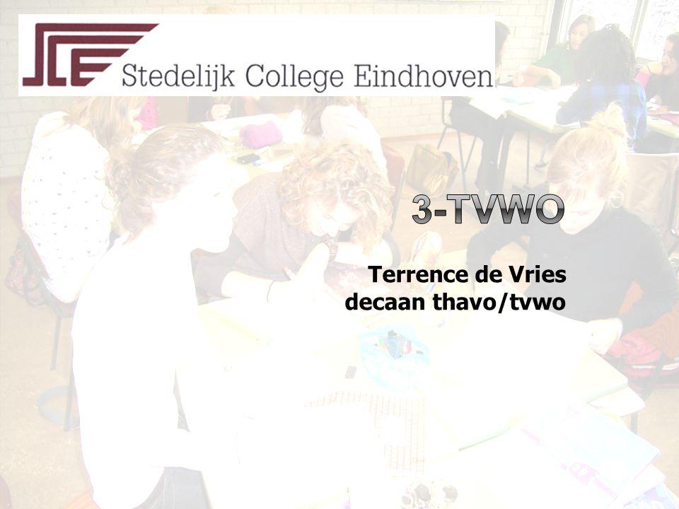 Terrence de Vries decaan thavo/tvwo