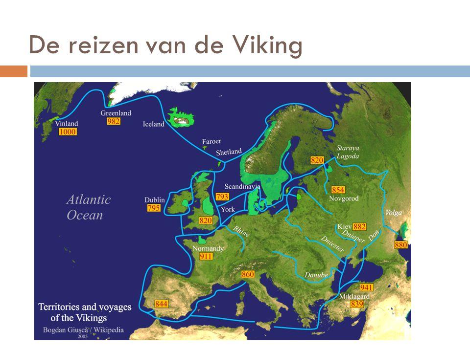 De reizen van de Viking