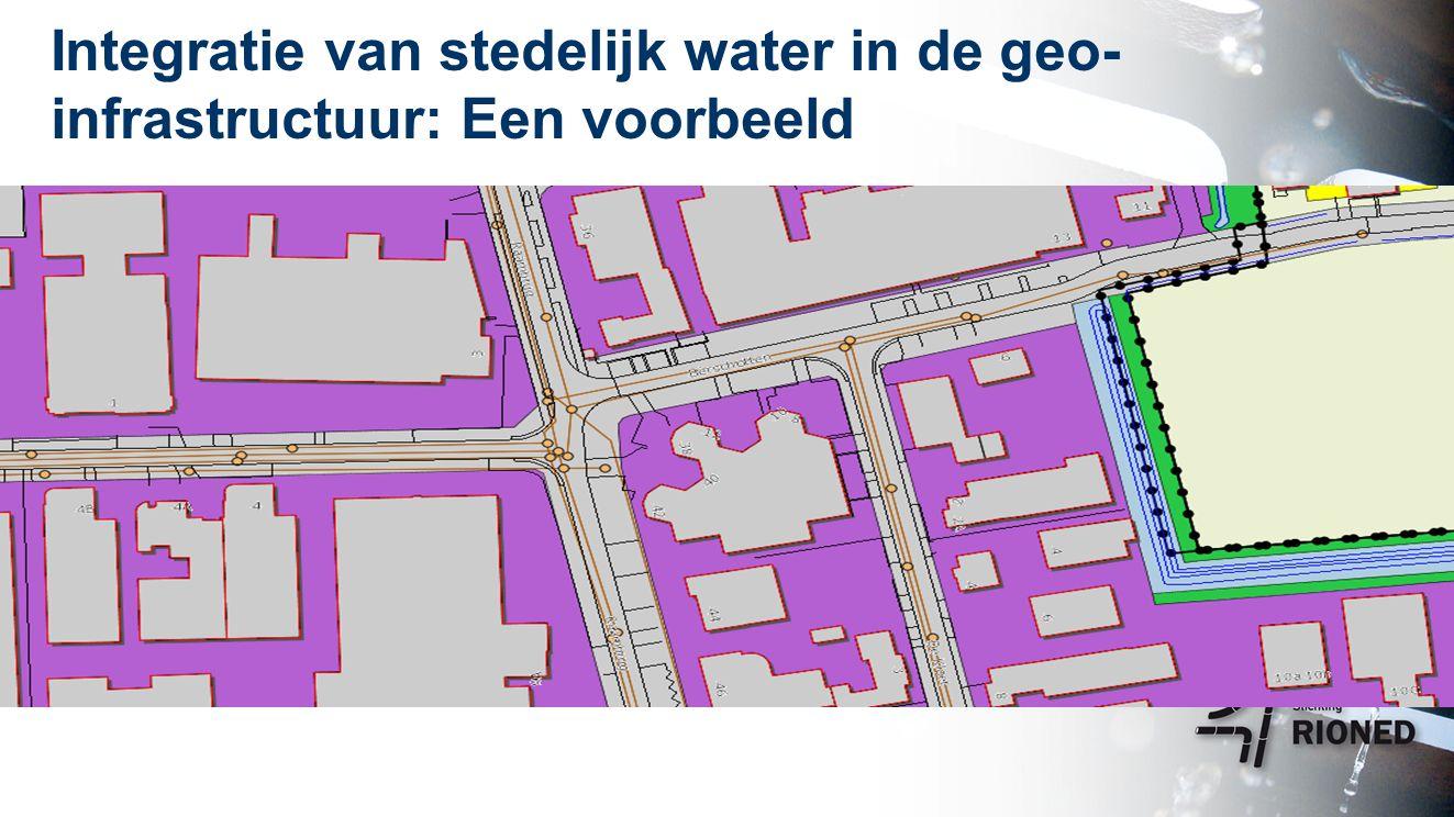 Integratie van stedelijk water in de geo- infrastructuur: Een voorbeeld Met dank aan SSC De Kempen
