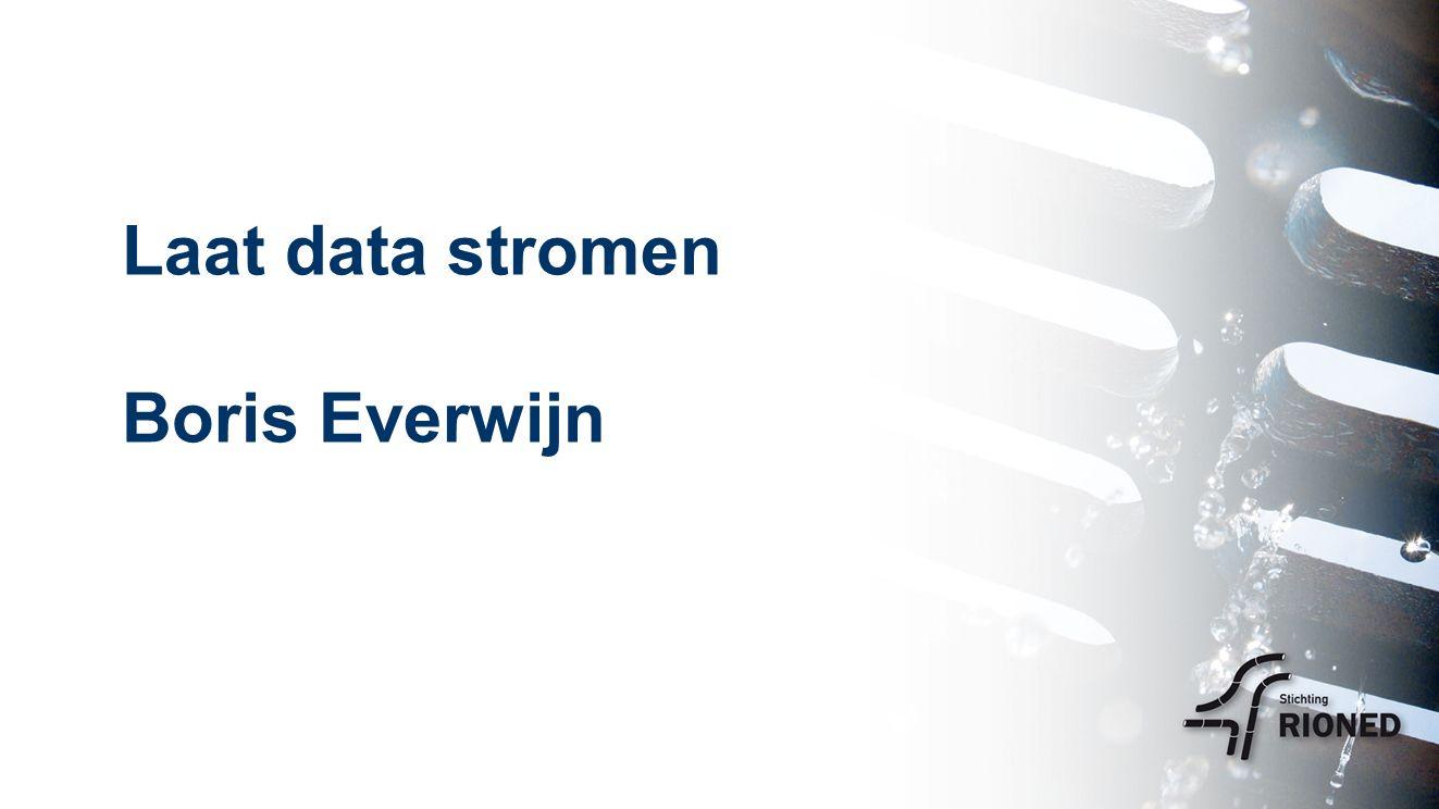 Laat data stromen Boris Everwijn
