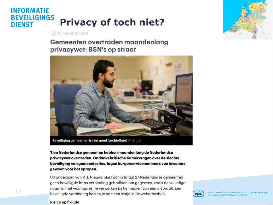 Privacy of toch niet? 11