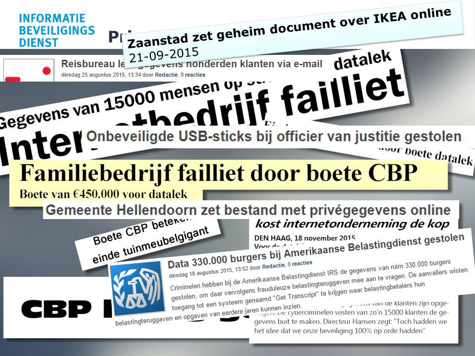 Privacy ? 7 Zaanstad zet geheim document over IKEA online 21-09-2015