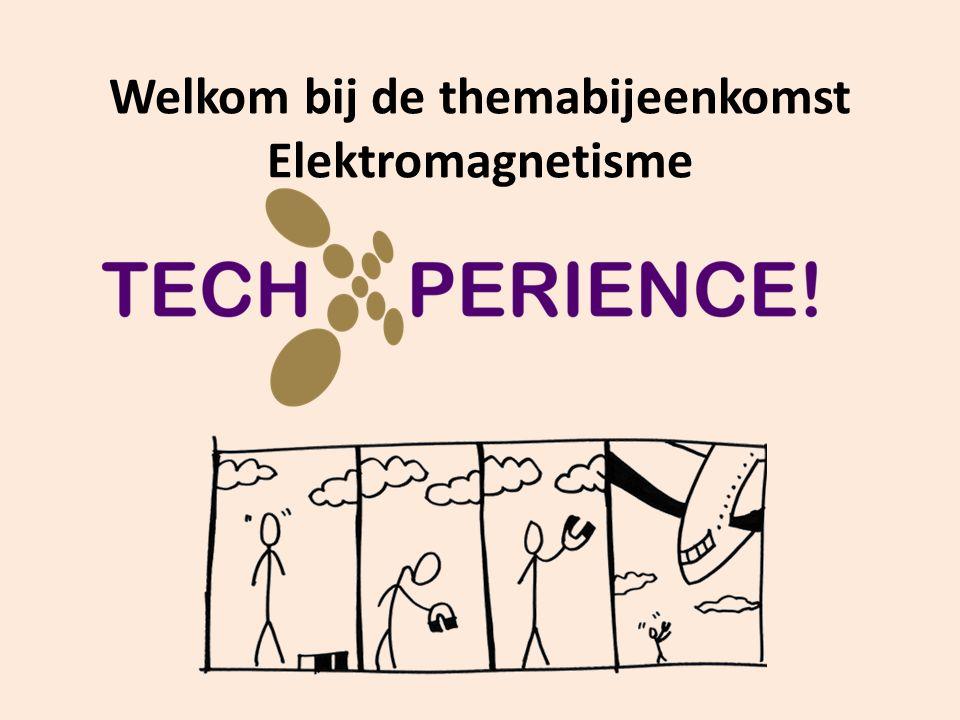 Welkom bij de themabijeenkomst Elektromagnetisme