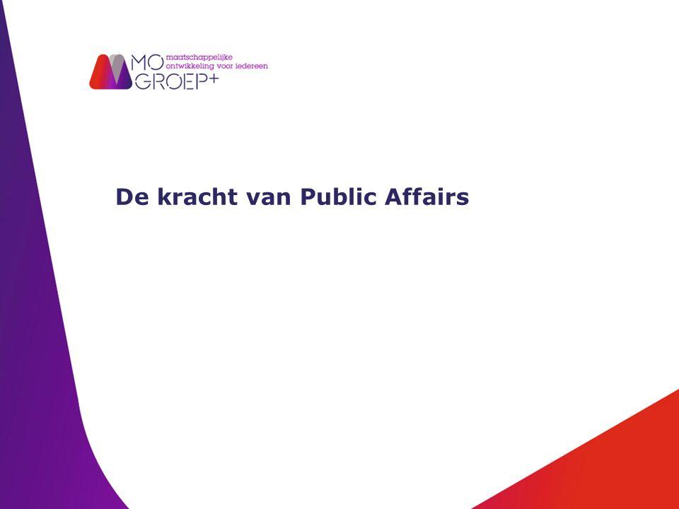 De kracht van Public Affairs