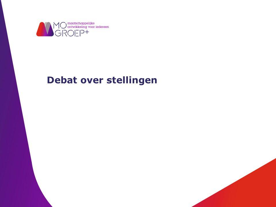 Debat over stellingen
