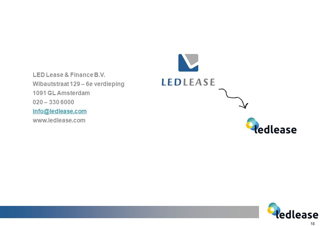 18 LED Lease & Finance B.V.