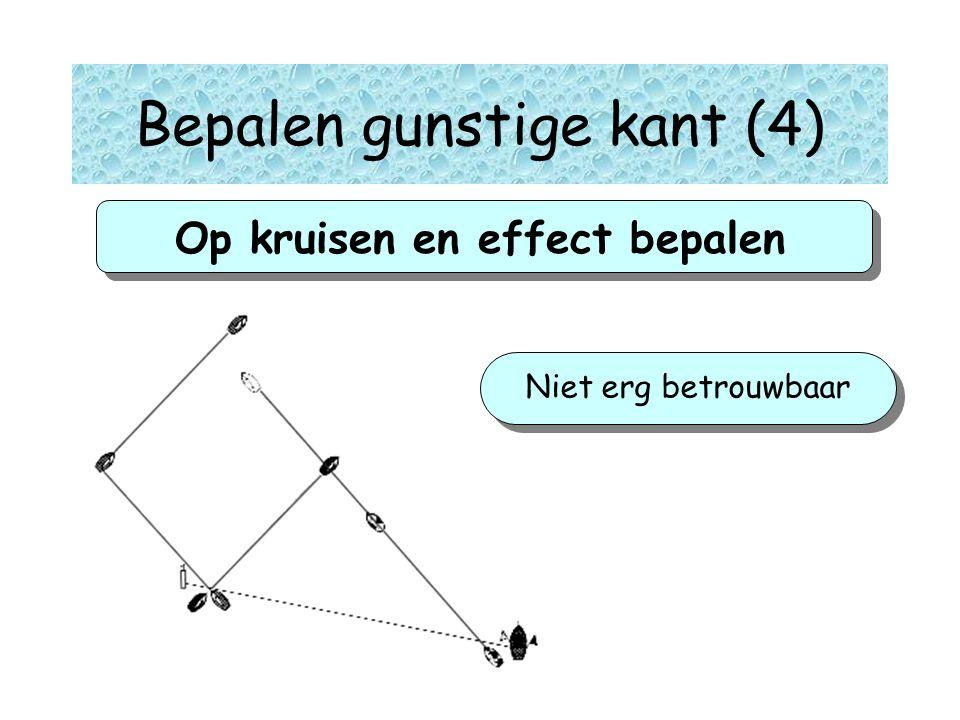 Op kruisen en effect bepalen Niet erg betrouwbaar gg Bepalen gunstige kant (4)