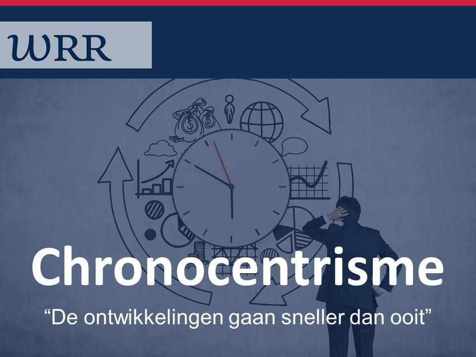 Chronocentrisme De ontwikkelingen gaan sneller dan ooit