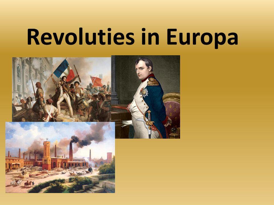 Revoluties in Europa