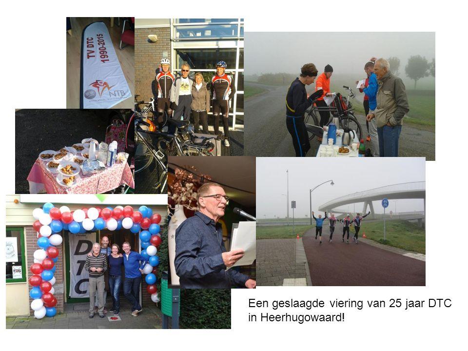 Een geslaagde viering van 25 jaar DTC in Heerhugowaard!
