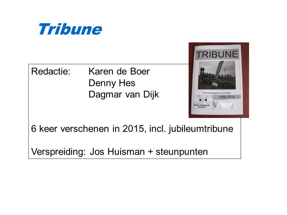 Redactie: Karen de Boer Denny Hes Dagmar van Dijk 6 keer verschenen in 2015, incl.
