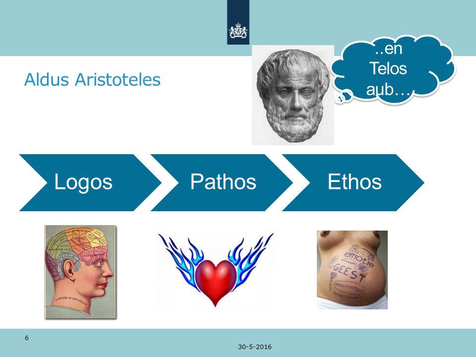 Aldus Aristoteles 30-5-2016 6 LogosPathosEthos..en Telos aub…