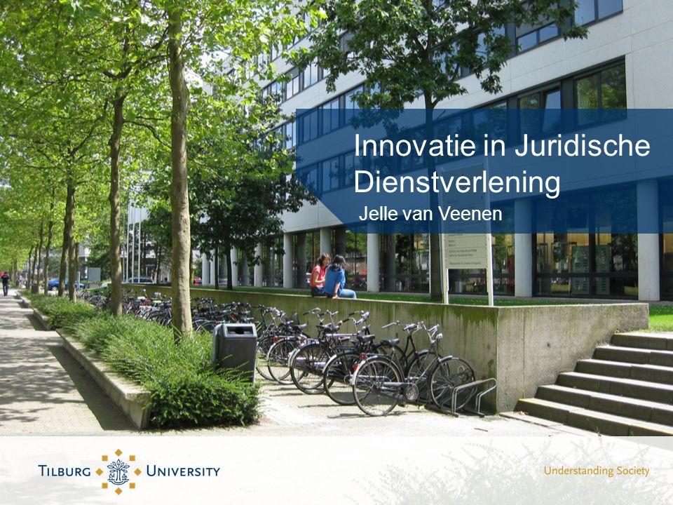 Innovatie in Juridische Dienstverlening Jelle van Veenen