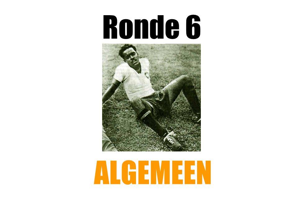 Ronde 6 ALGEMEEN
