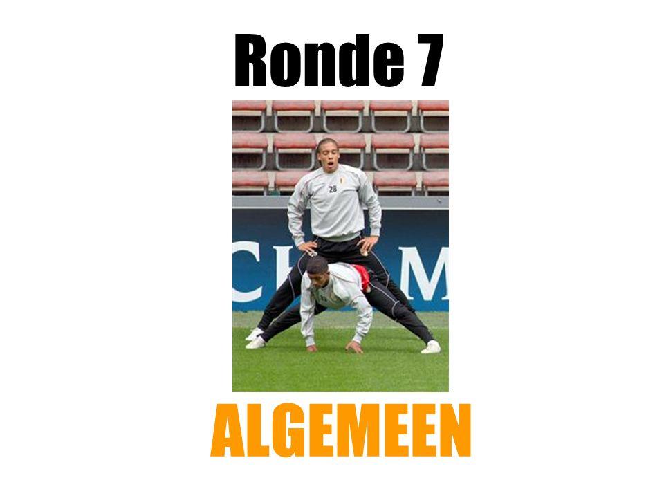 Ronde 7 ALGEMEEN