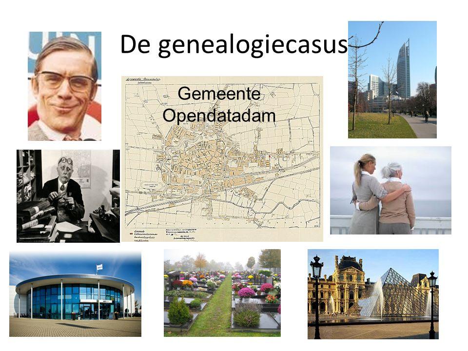 De genealogiecasus Gemeente Opendatadam