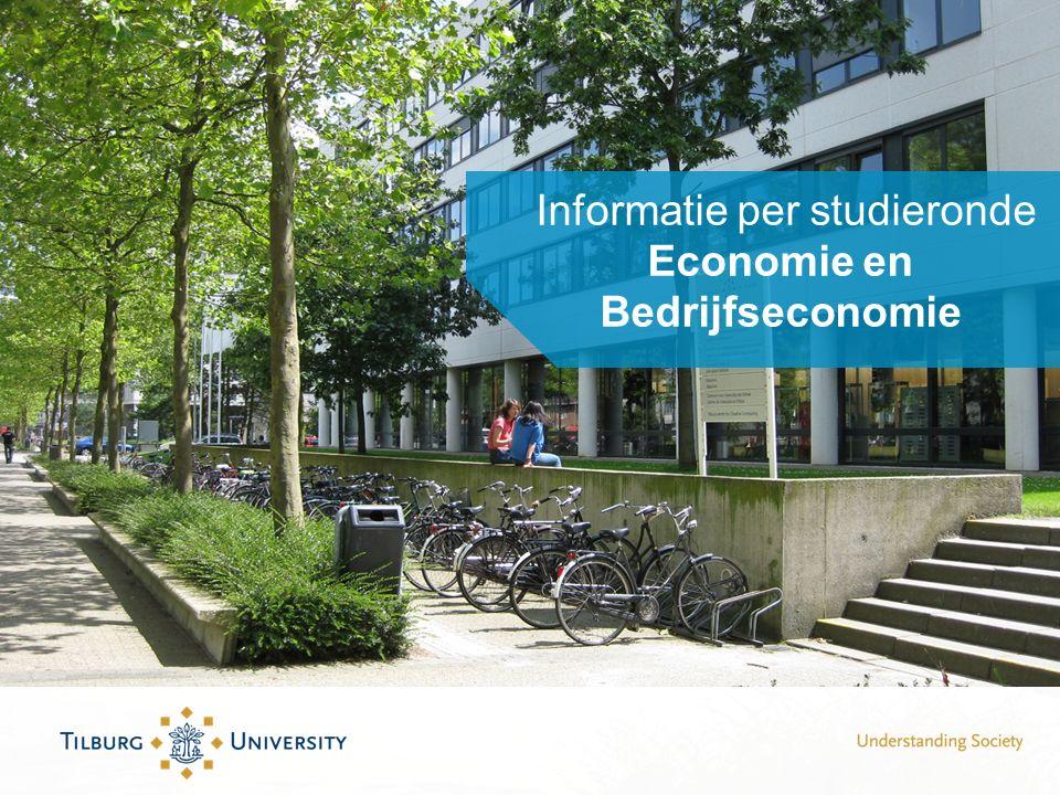 Informatie per studieronde Economie en Bedrijfseconomie