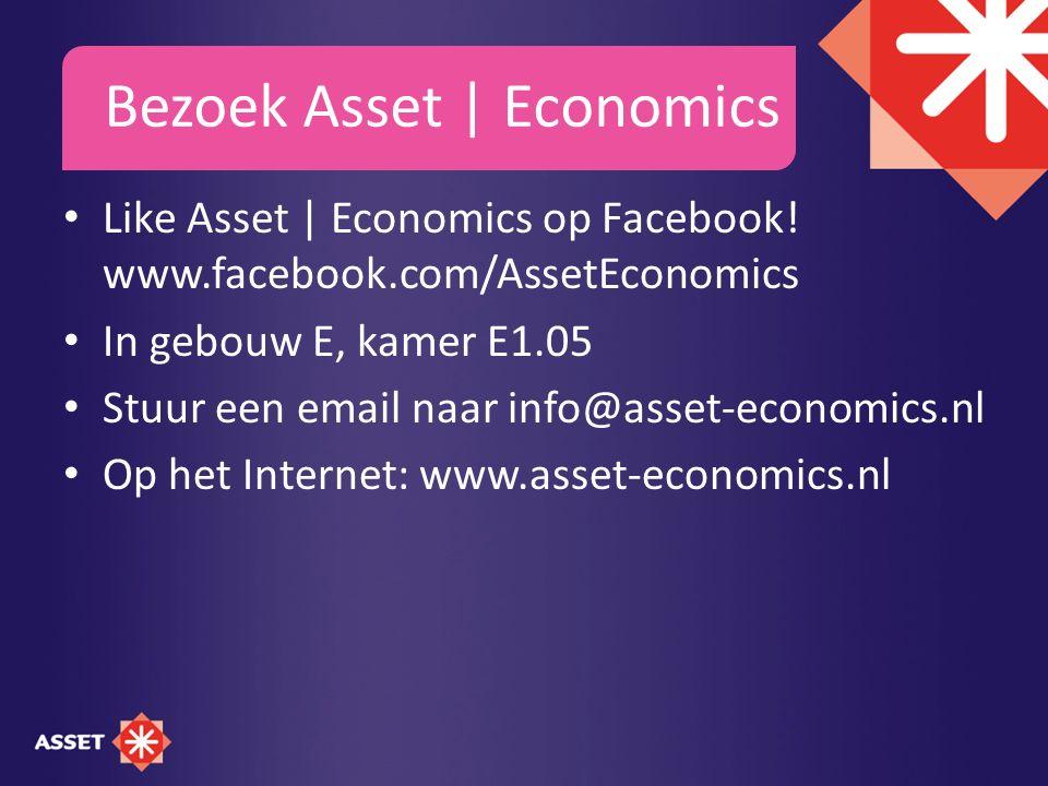Bezoek Asset | Economics Like Asset | Economics op Facebook.