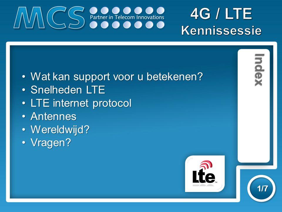 MCS Support 1/7 Wat kan support voor u betekenen?