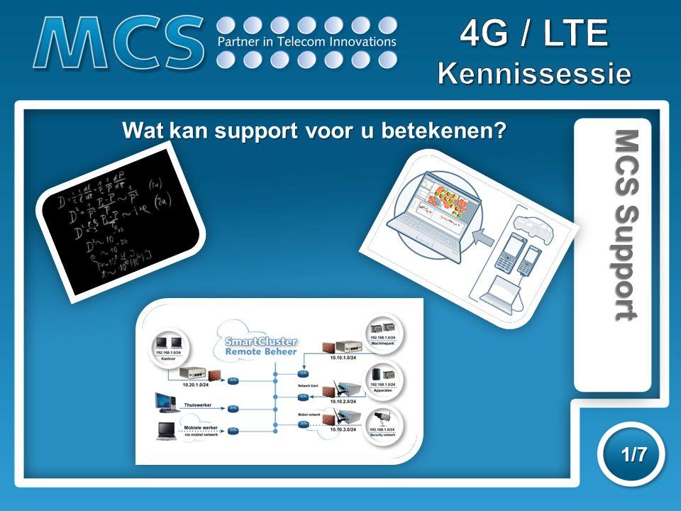 MCS Support 1/7 Wat kan support voor u betekenen