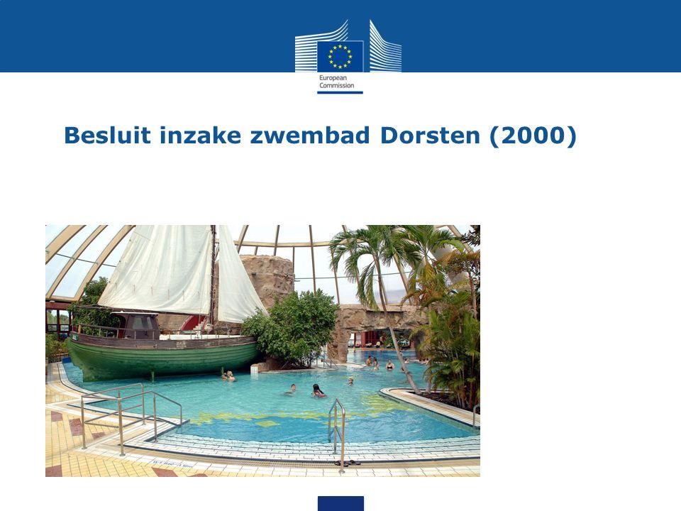 Besluit inzake zwembad Dorsten (2000)