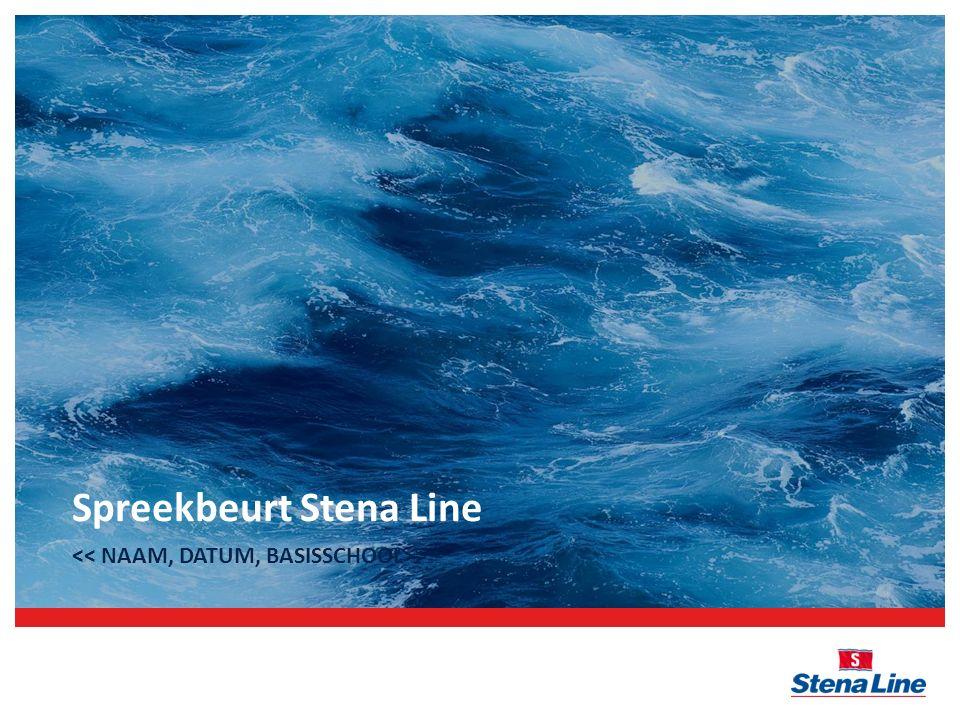 Spreekbeurt Stena Line >