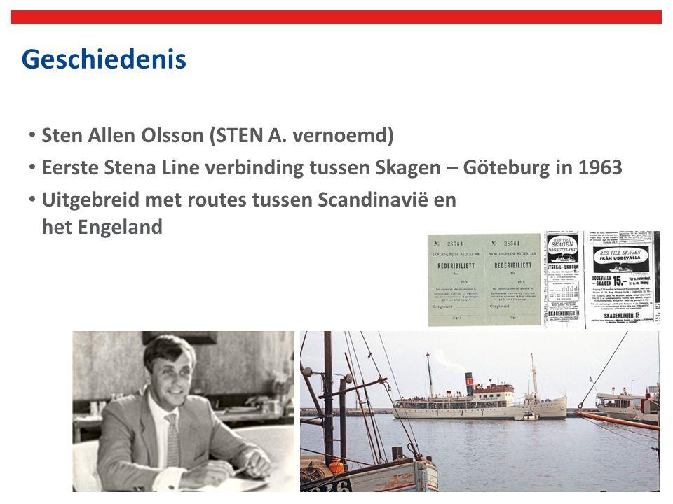 Stena Line Nederland Stena Line nam in juni 1989 Stoomvaart Maatschappij Zeeland over Sinds 2000 vrachtschepen naar Killingholme Routes vanuit Nederland naar Engeland: - Hoek van Holland – Harwich (vracht & passagiers) - Hoek van Holland – Killingholme (alleen vracht) - Rotterdam (Europoort) – Harwich (alleen vracht) - Rotterdam (Europoort) – Killingholme (alleen vracht)