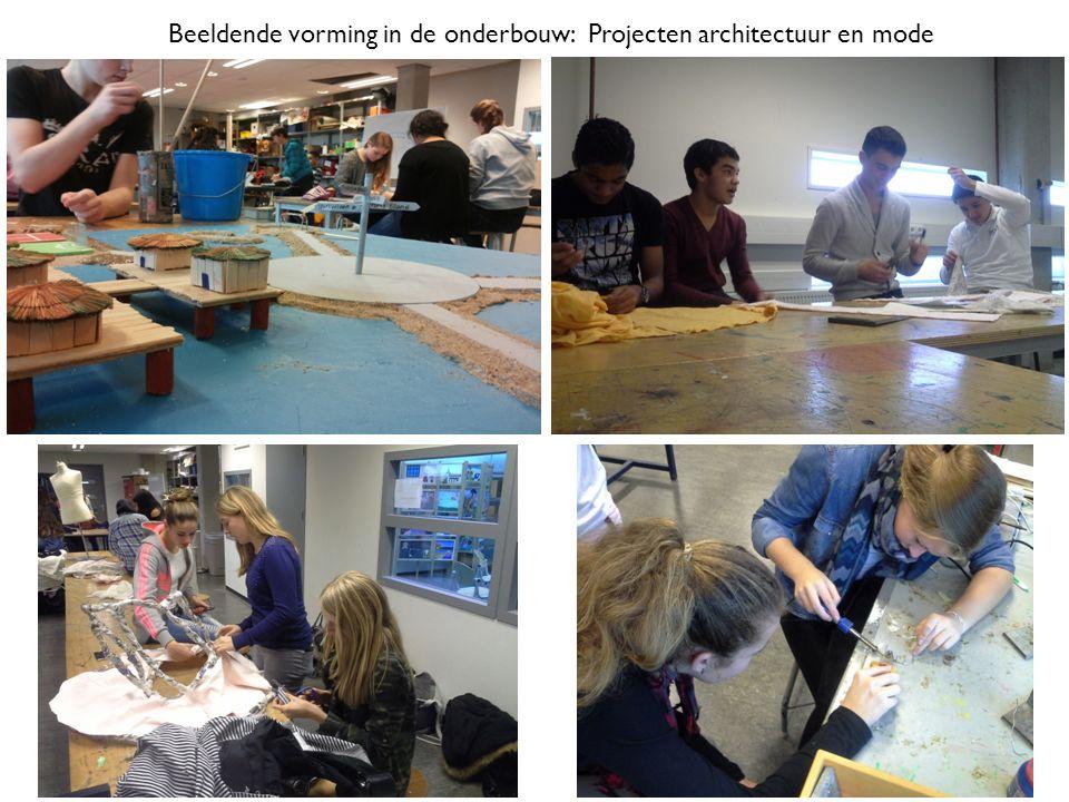 Beeldende vorming in de onderbouw: Projecten architectuur en mode