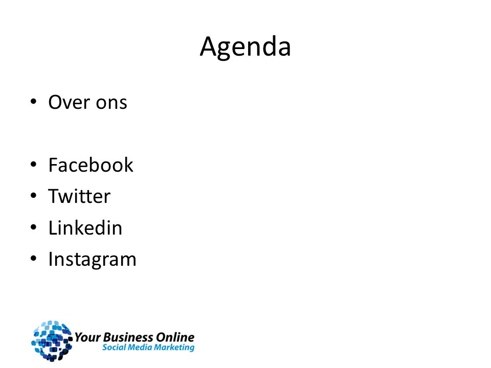 Agenda Over ons Facebook Twitter Linkedin Instagram