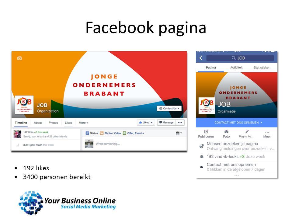 Instagram advertenties Gerichte advertentie mogelijkheden zoals op Facebook Resultaat goed te meten.