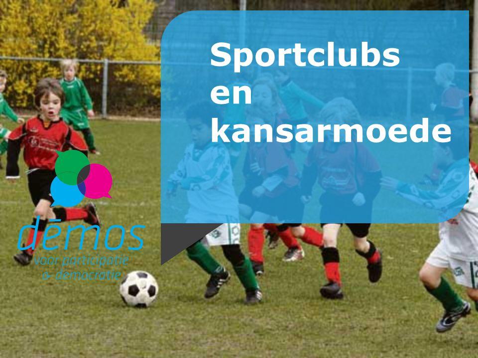 Sportclubs en kansarmoede