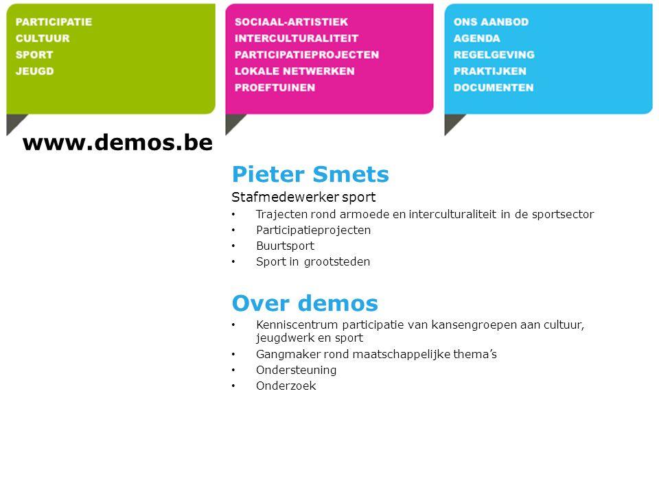 Op zoek naar: – www.desocialekaart.be www.desocialekaart.be – Omgevingsanalyse: wie is actief in de wijk.