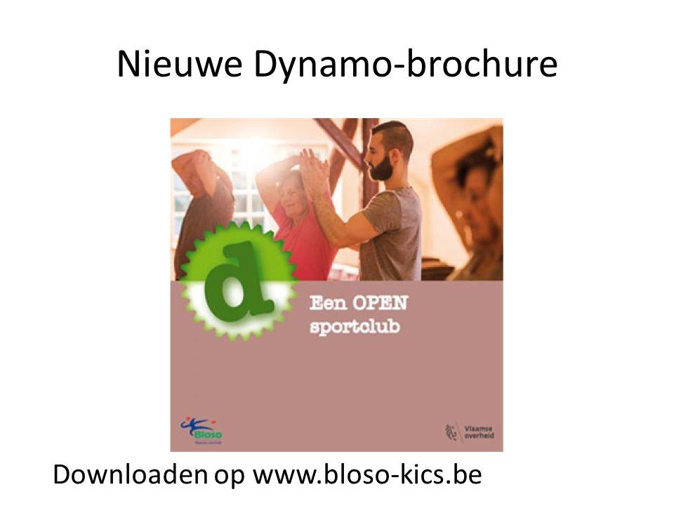 Nieuwe Dynamo-brochure Downloaden op www.bloso-kics.be