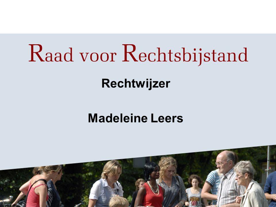 Rechtwijzer Madeleine Leers