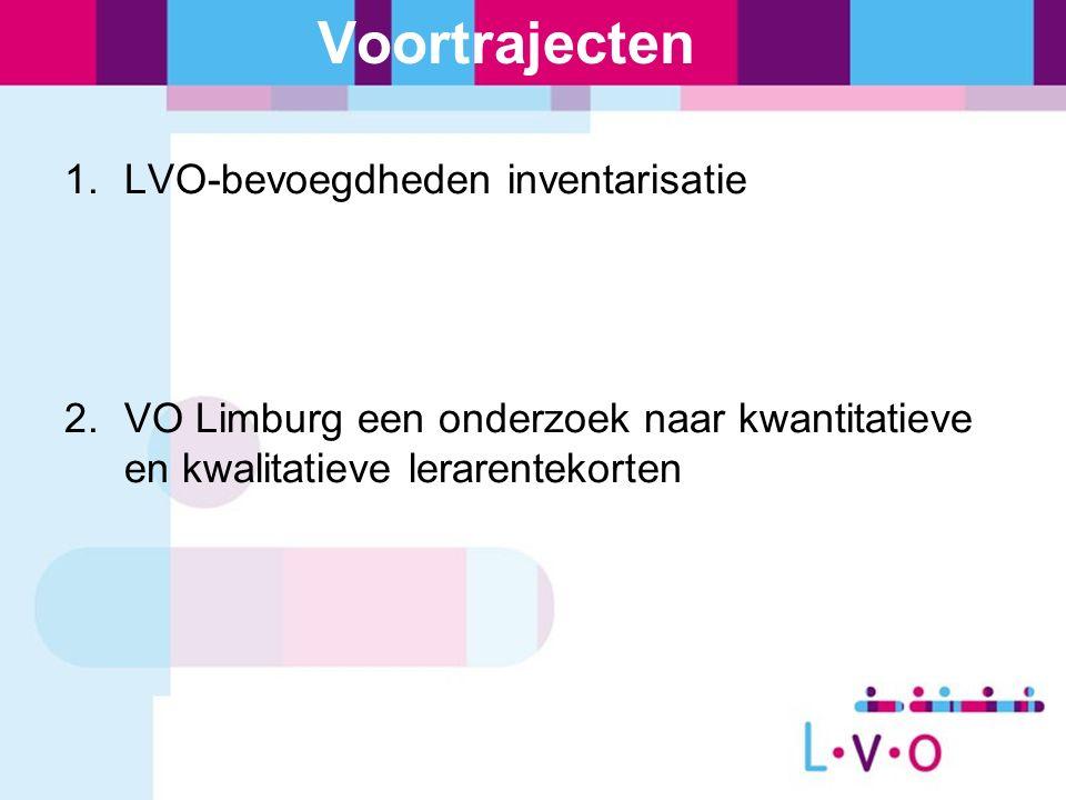 LVO inventarisatie bevoegdheden Looptijd project: april 2010 t/m maart 2011 Resultaten: - registratietool (scherm bevoegdheden in P-view) - inzicht in alle bevoegdheden en (leer)trajecten tot op vakniveau - managementinformatie - borging