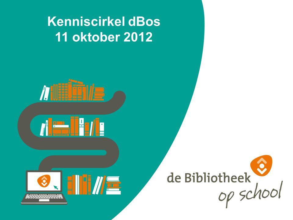 Kenniscirkel dBos 11 oktober 2012