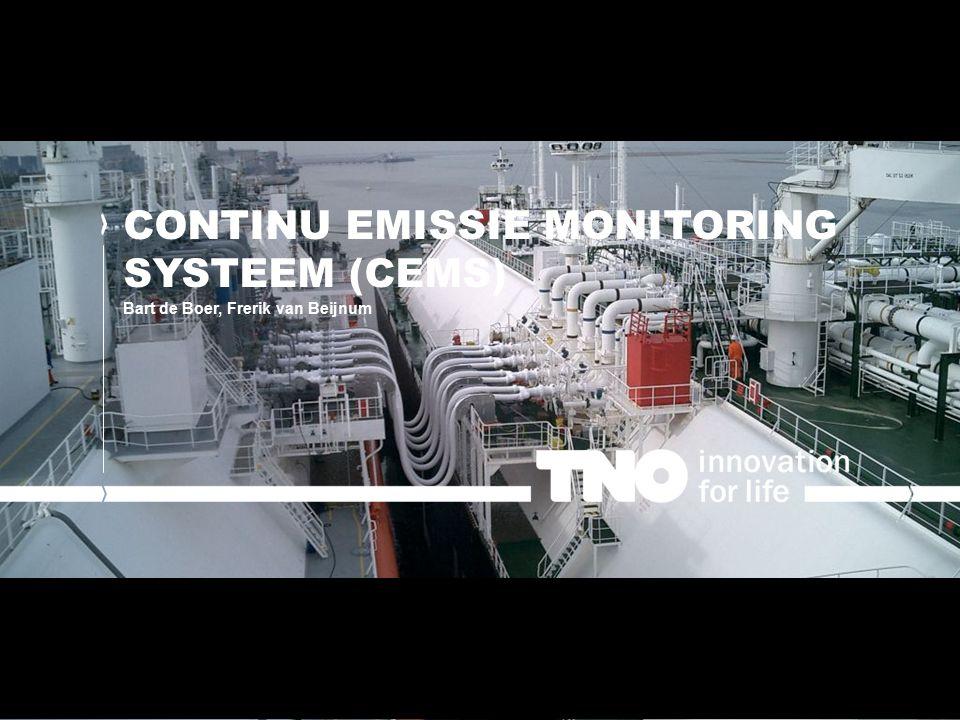 AANLEIDING VOOR HET PROJECT Het gebruik van LNG leidt tot emissie van methaan.