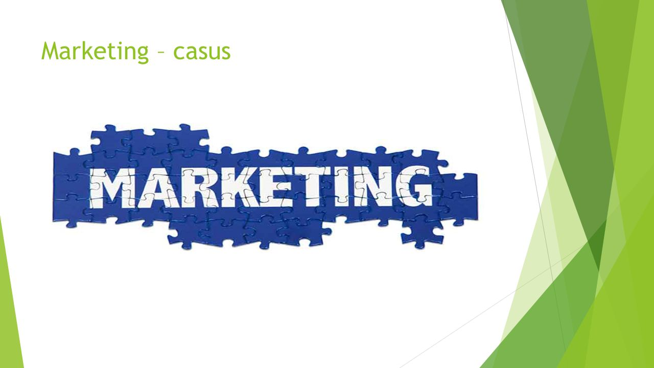 Marketing – casus