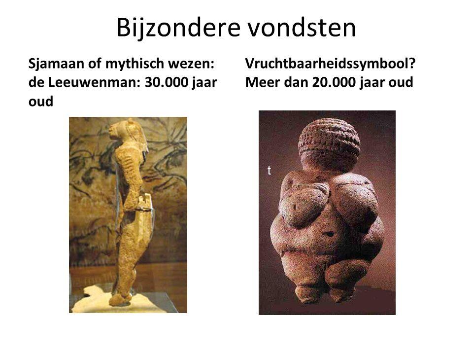 Bijzondere vondsten Sjamaan of mythisch wezen: de Leeuwenman: 30.000 jaar oud Vruchtbaarheidssymbool? Meer dan 20.000 jaar oud t