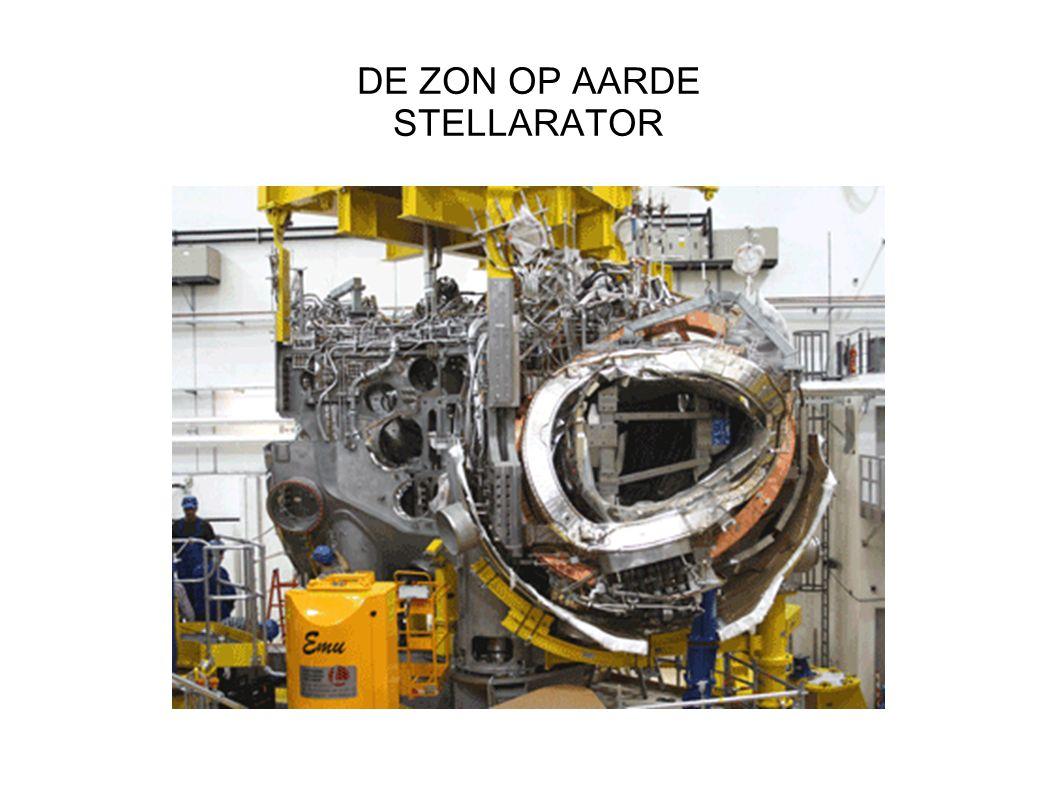 DE ZON OP AARDE STELLARATOR
