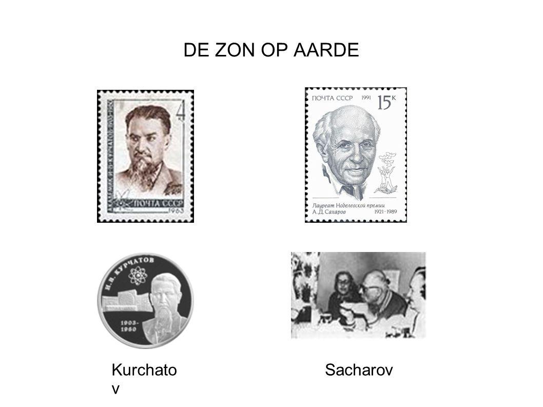 DE ZON OP AARDE Kurchato v Sacharov