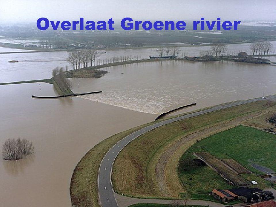 Overlaat Groene rivier